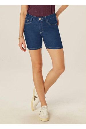 Malwee Mulher Bermuda - Bermuda Escuro Comfort Jeans