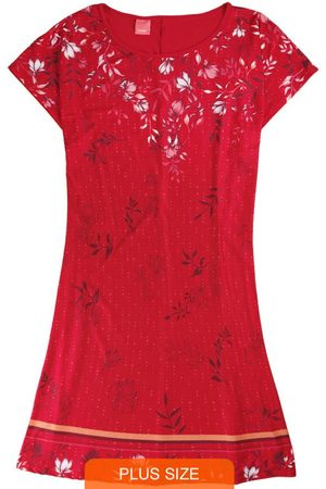 Wee Malwee Mulher Vestido Estampado - Vestido Curto Floral em Liganete