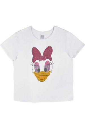 Disney Mulher Camiseta - Blusa em Malha de Viscose
