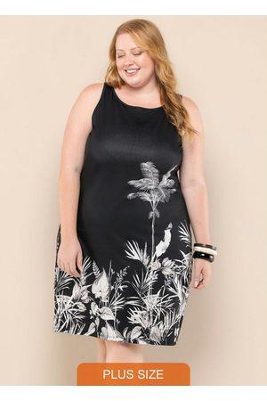 Vinculo Basic Mulher Vestidos - Vestido Plus Size Regata