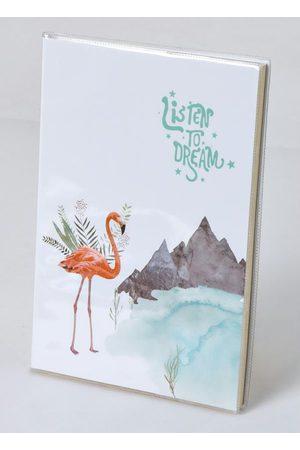 QUINTESS Caderno Anotações Flamingo