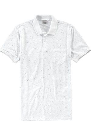 Malwee Camisa Branca Polo Slim Botonê