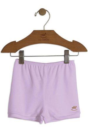Up Baby Short - Short Básico para Bebê Claro