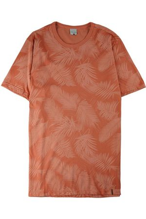 Malwee Camiseta Tradicional Folhagem em Malha