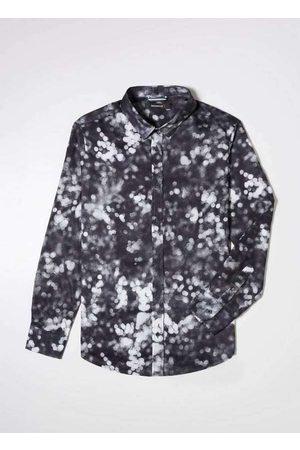 Reserva Homem Camisa Casual - Camisa Ml Estampada Neblina