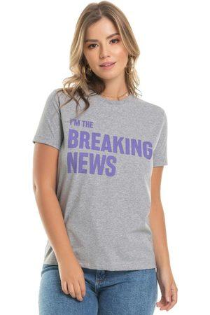 Up Close T-Shirt com Estampa