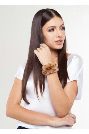 QUINTESS Bijuterias - Bracelete Ajustável Onça