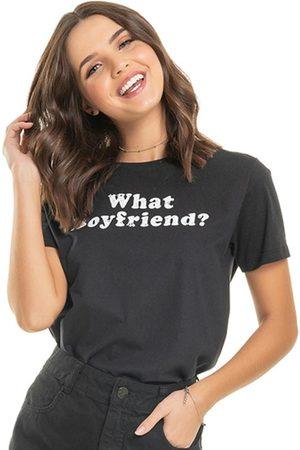 Up Close Mulher Camiseta - T- Shirt Boyfriend