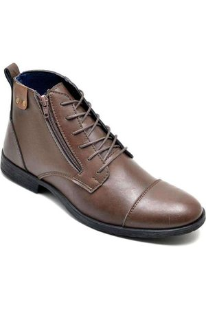 Sandro Moscoloni Bota Dress Boot Masculina Eco Canyon Broklin Marro