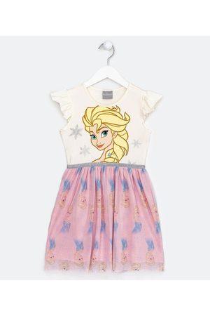 Frozen Vestido Infantil Estampa Elsa - Tam 2 a 10 anos | | Multicores | 02
