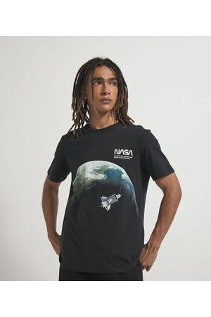 Nasa Camiseta com Estampa Foguete       GG