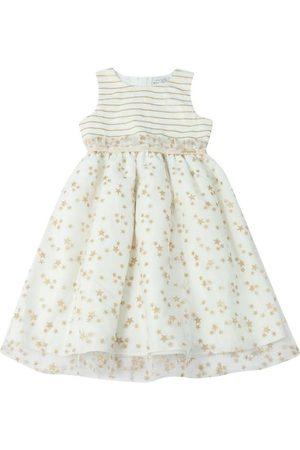 Momi Vestido Estrela Glitter Off White