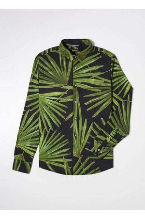 Reserva Camisa Ml Estampada Tropicos