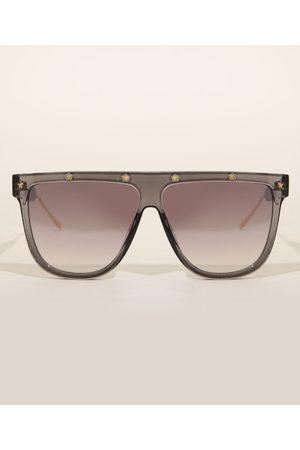 Yessica Óculos de Sol Feminino Redondo