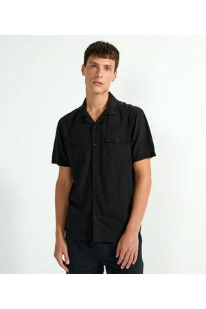 Request Homem Camisa Manga Curta - Camisa Manga Curta Lisa com Bolsos | | | GG