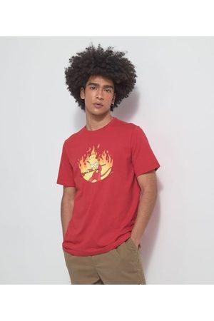The Simpsons Camiseta com Estampa Bart Hallowen | | | P
