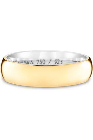 Vivara Aliança de Casamento Prata Ouro Amarelo Romance (5mm)
