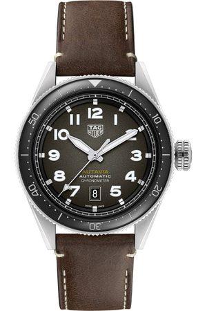 Vivara Homem Relógios - Relógio TAG Heuer Autavia Masculino Couro Marrom - WBE5114.FC8266