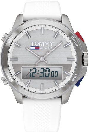 Vivara Relógio Tommy Jeans Masculino Borracha Branca - 1791764