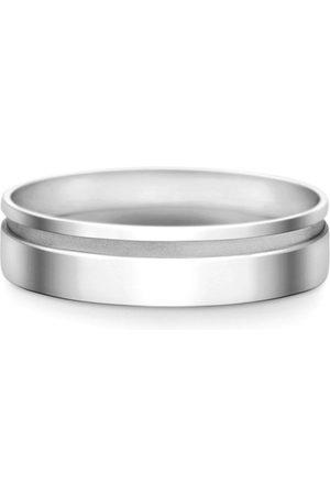 Vivara Homem Anéis - Aliança de Casamento Ouro Branco (6mm)