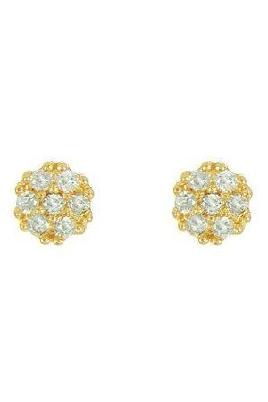 Vivara Brinco Ouro Amarelo e Diamantes
