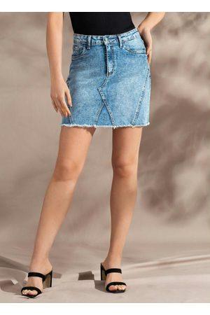 Doce Trama Saia Jeans