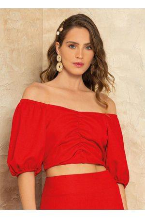 Doce Trama Mulher Blusa - Blusa Rouge