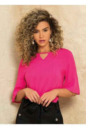 Doce Trama Blusa Pink