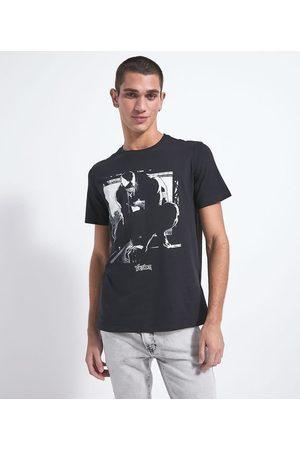 Blue Steel Camiseta com Estampa Venom Brilha no Escuro | | | M
