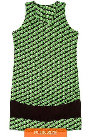 Rovitex Plus Size Vestido Regata