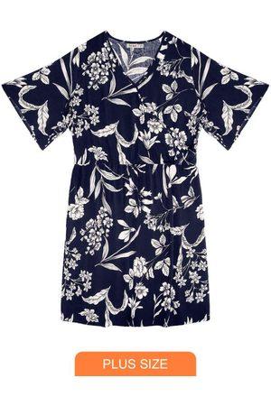 Secret Glam Vestido Floral Plus Size