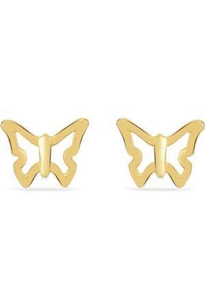 Vivara Brincos - Brinco Borboleta Ouro Amarelo