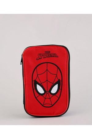 Marvel Estojo Escolar Infantil Homem Aranha