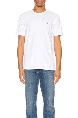 AllSaints Homem Suspensório - Brace Tonic Crew Tee in White. - size XL (also in XS)