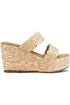 KAANAS Tenerife Sandal in Neutral. - size 10 (also in 6, 7)