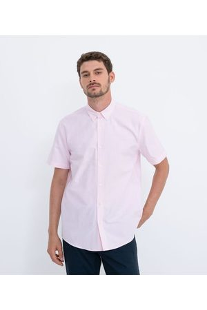 Preston Field Camisa Manga Curta Comfort em Oxford | | | 03