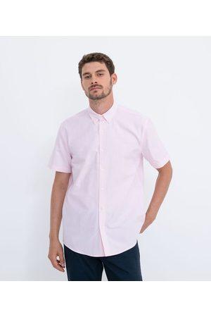 Preston Field Camisa Manga Curta Comfort em Oxford | | | 03