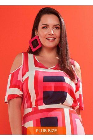 Lunender Mais Mulher Blusa Tecido Rayon Bali