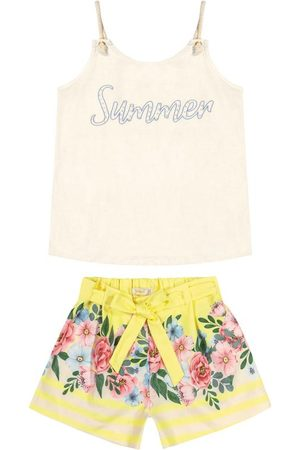 Trick Nick Conjunto Infantil Blusa com Shorts