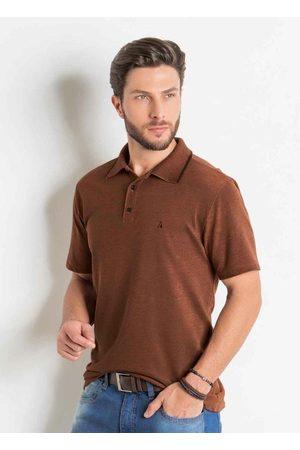 Actual Homem Camisa Formal - Camisa Polo em Piquet 3d