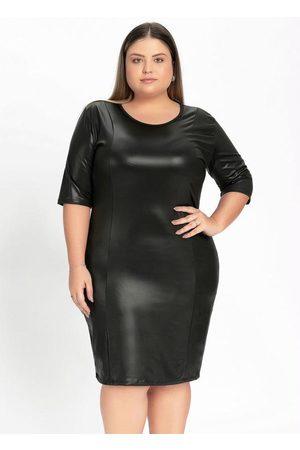 Marguerite Mulher Vestidos - Vestido Curto em Cirrê Plus Size