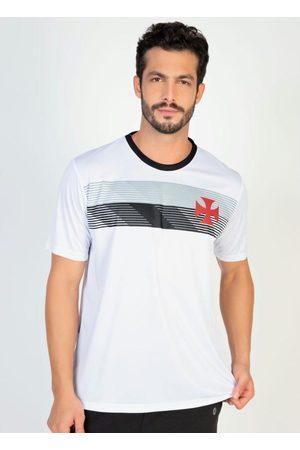 Braziline Homem Camisolas de Manga Curta - Camiseta Vasco Talent Branca