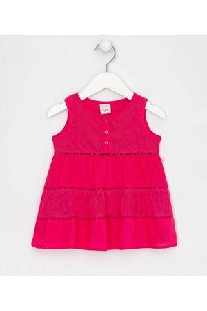 Teddy Boom (0 a 18 meses) Vestido Infantil Saia com Recortes Maria e Detalhe em Tule - Tam 0 a 18 meses | | | 9-12M