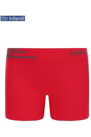 LUPO Cueca Lupinho Boxer 0132-002 Infantil 5640-Vermelh