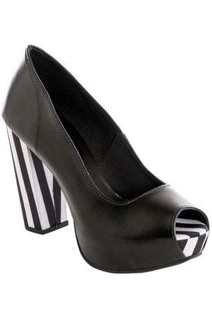 adidas Sapato Peep Toe e Listrado