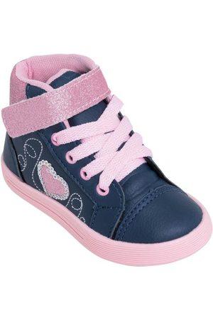 adidas Tênis Infantil Marinho com Velcro e Glitter