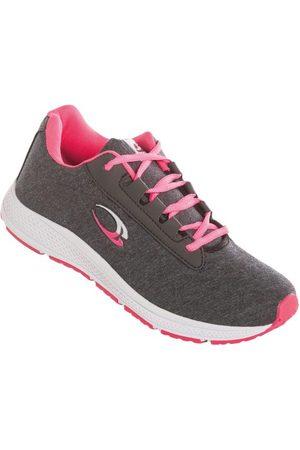 adidas Tênis em Moletom Grafite e Pink