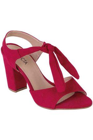 adidas Sandália Vermelha em Camurça Sintética