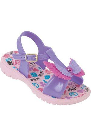 adidas Sandália Infantil Lilás com Palimilha Estampada