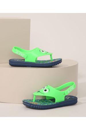 GRENDENE Sandália Infantil Toy Story Verde